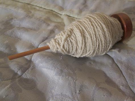Drop spindle 1